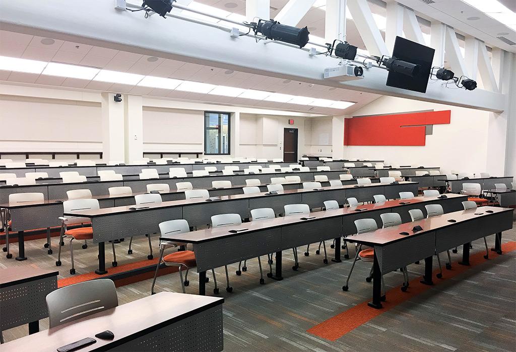 OSU lecture hall